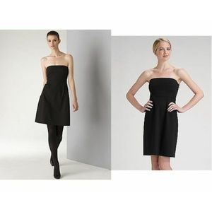 Theory Little Black Strapless Dress - Size 2